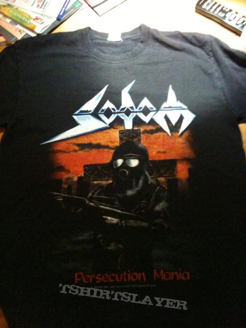 Sodom - Persecution Mania tour shirt 1988
