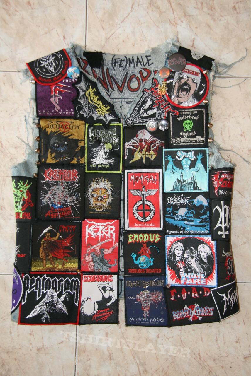 Battle Jacket - My vest!