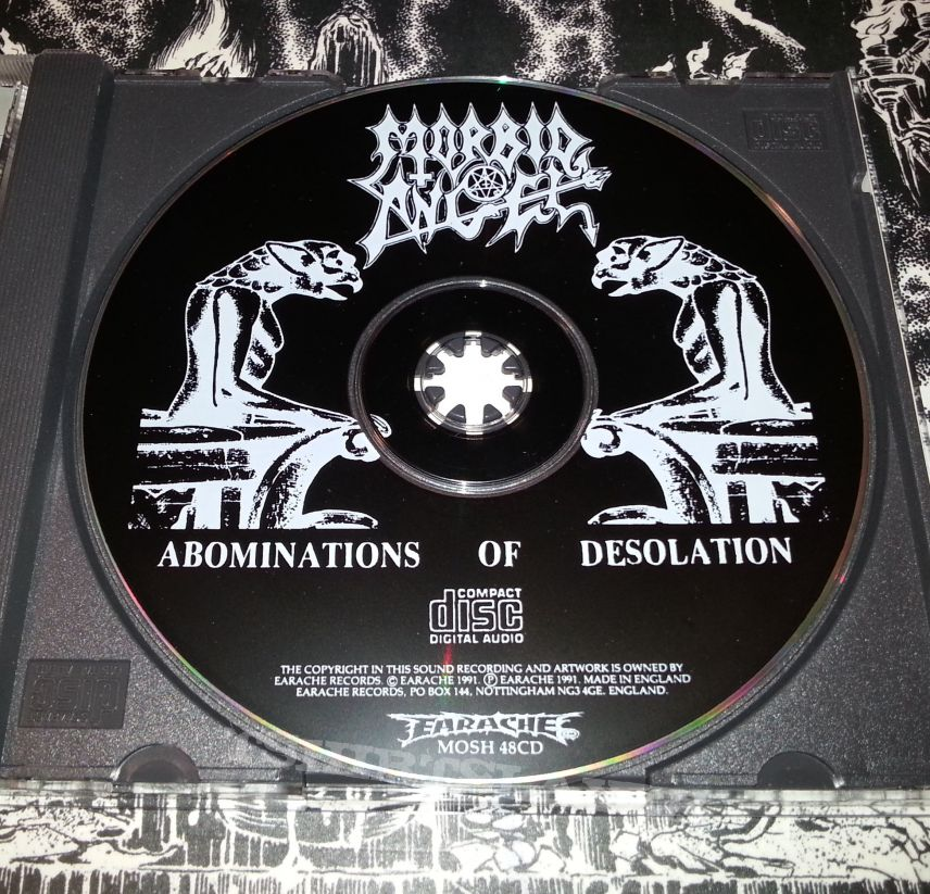 Morbid Angel - Abominations of Desolation ( Box with ...
