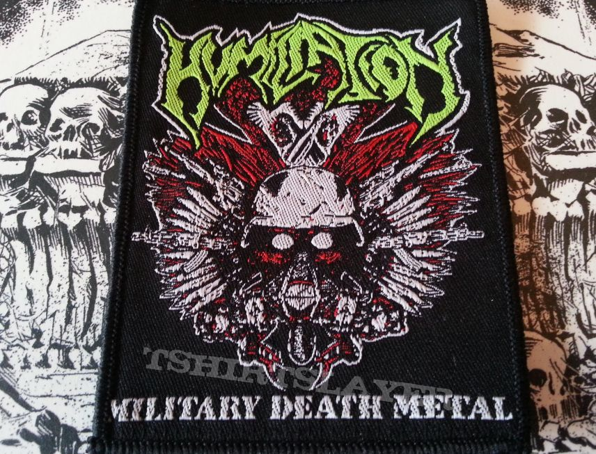 Humiliation - Military Death Metal Patch