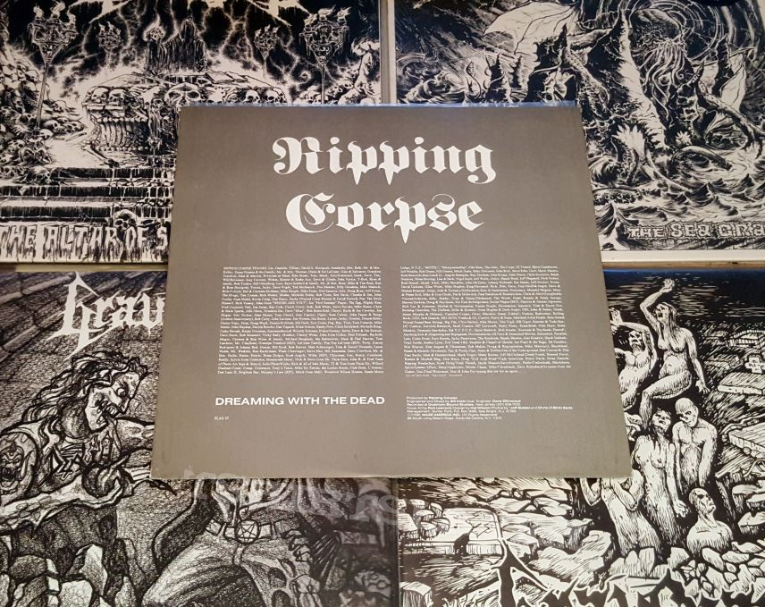 Ripping Corpse - Dreaming With The Dead ( Vinyl )