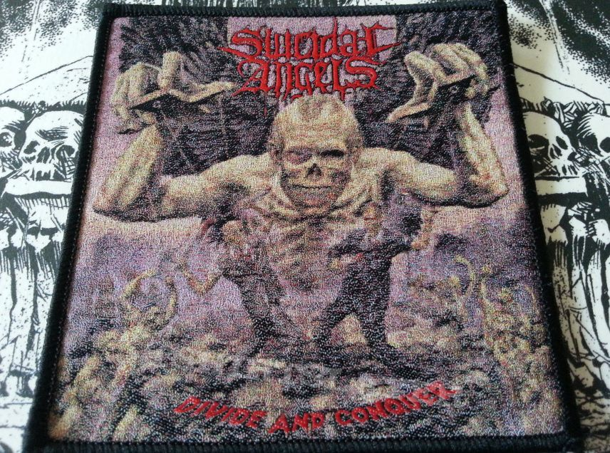 Suicidal Angels - Divide & Conquer ( Patch )