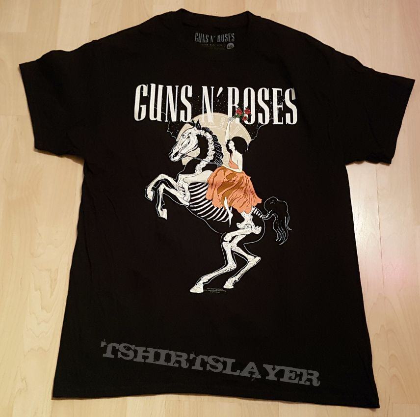 Guns N Roses - Not In This Lifetime Tour ( Event Shirt