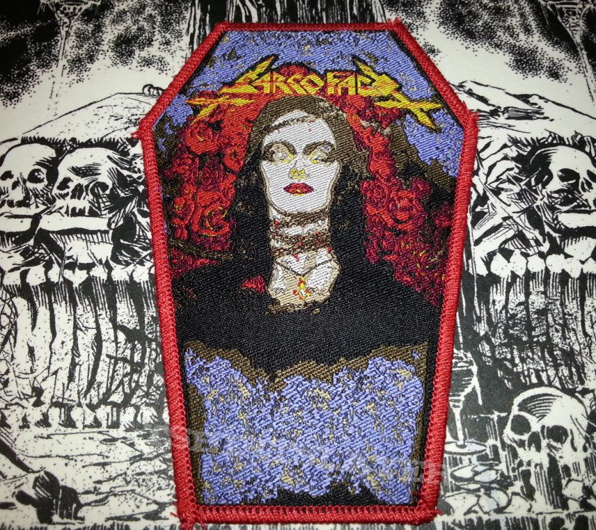 Sarcofago - The Laws of Scourge ( Coffin Patch )