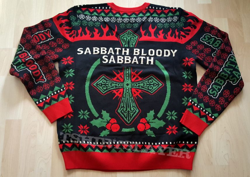 Black Sabbath Sabbath Bloody Sabbath Christmas Sweater