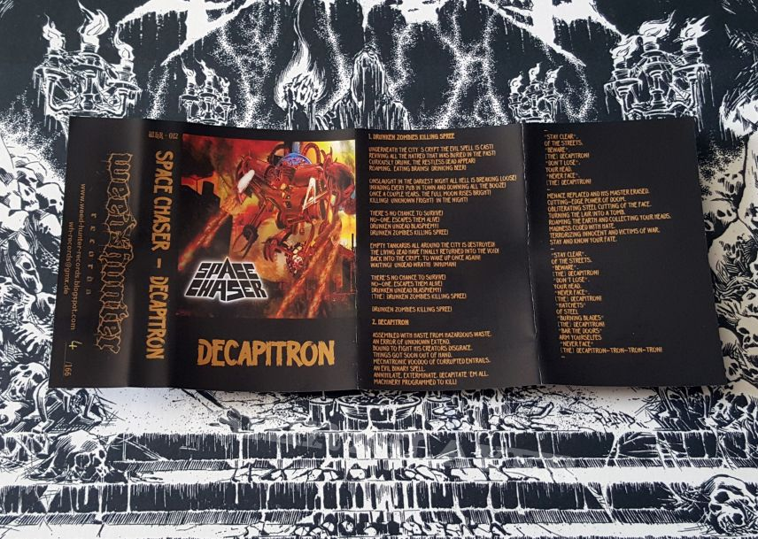 Space Chaser - Decapitron EP ( Tape )