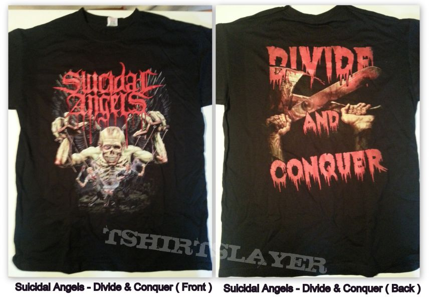 Suicidal Angels - Divide And Conquer