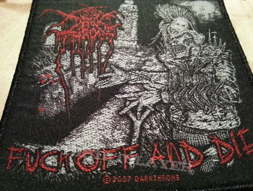 Fuck off and die patch