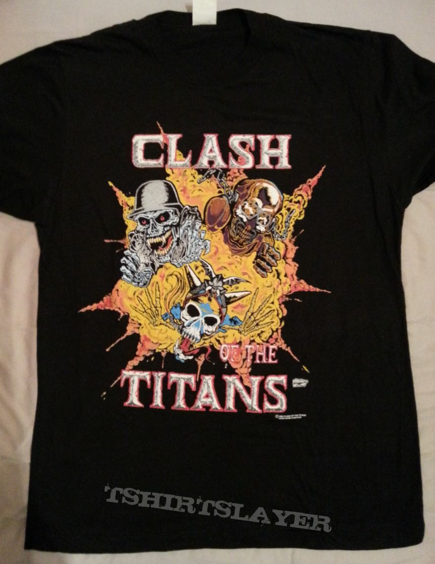Clash Of The Titans - Europe 1990