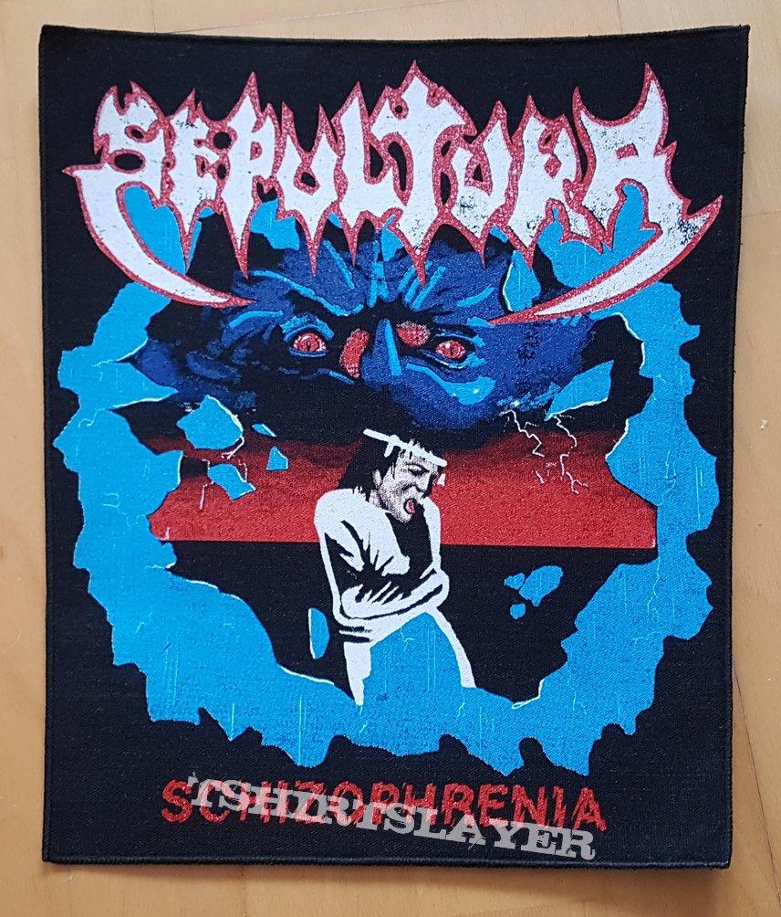 Sepultura - Schizophrenia ( Backpatch )