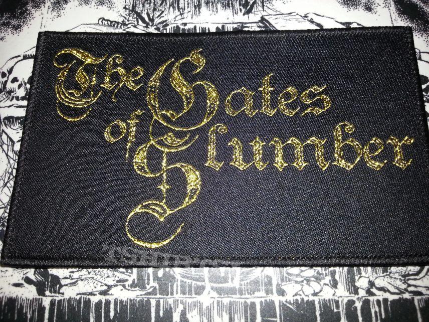 The Gates Of Slumber - Logo ( Patch )