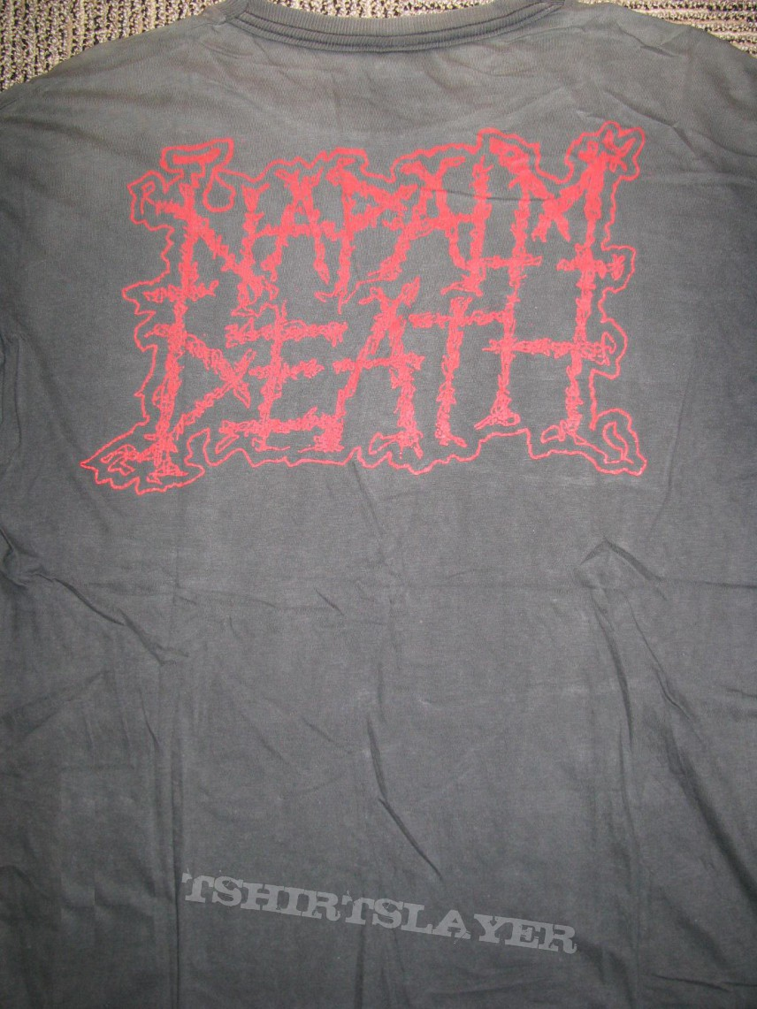 TShirt or Longsleeve - Napalm Death - Rise Above