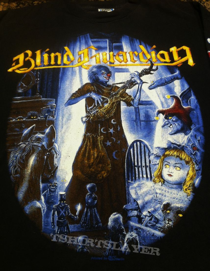 Blind Guardian Mr. Sandman/The Script for my Requiem Longsleeve 1995