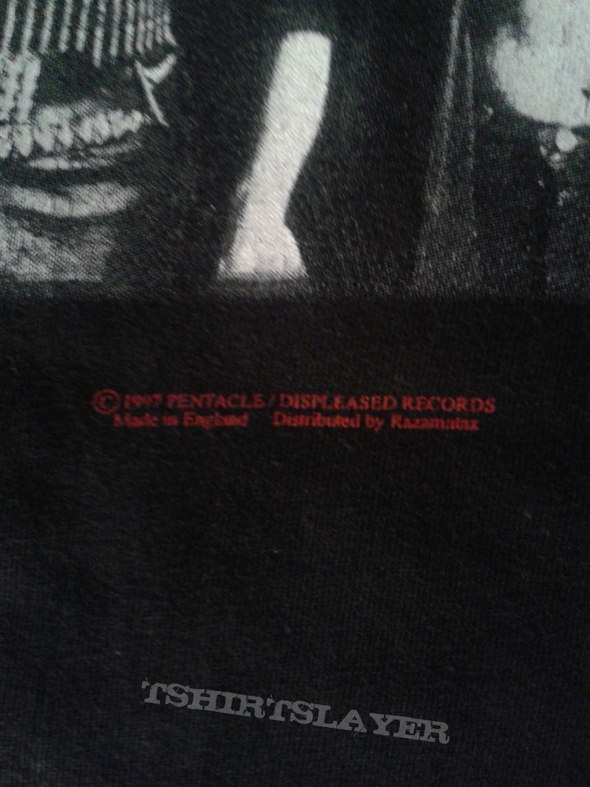 Pentacle Fifth Moon shirt 97  LS (Displeased Records- Razamataz)