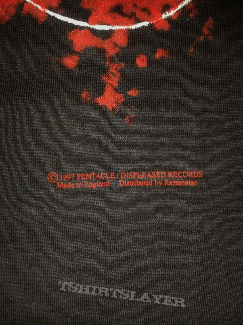 Pentacle Fifth Moon shirt 97 (Displeased Records- Razamataz)