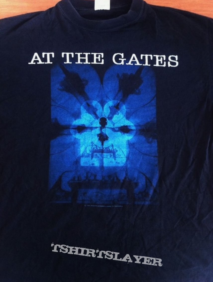 At the gates With Fear I Kiss Shirt  Org Peaceville 93