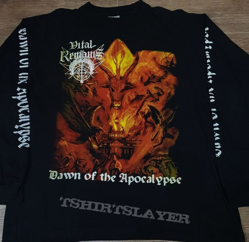 Vital Remains Dawn Of The Apocalypse Osmose