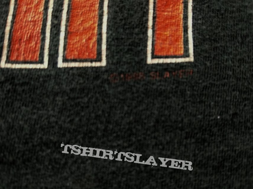 Slayer Slaytanic Wehrmacht 1988