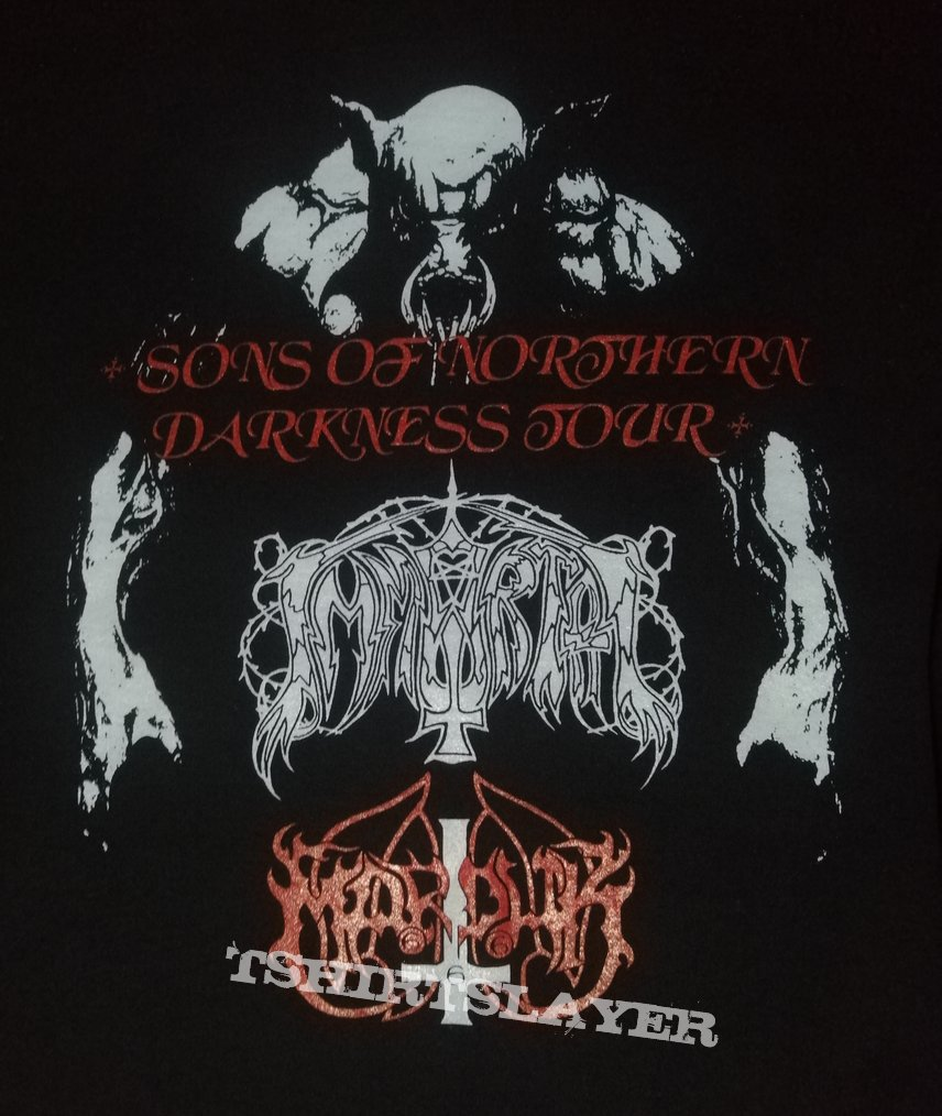 Immortal - Marduk Sons Of Northern Darkness Tour 1994