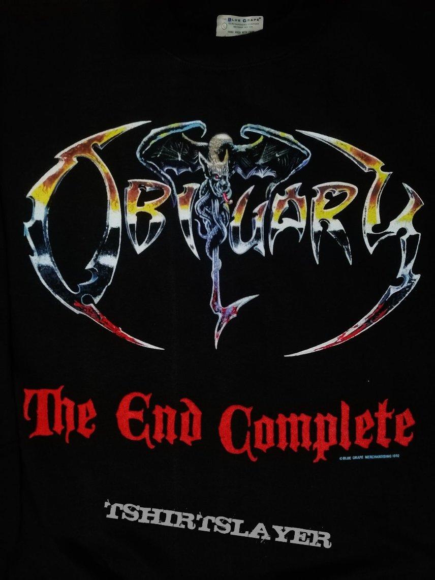 Obituary The End Complete European Tour 92 Sweater