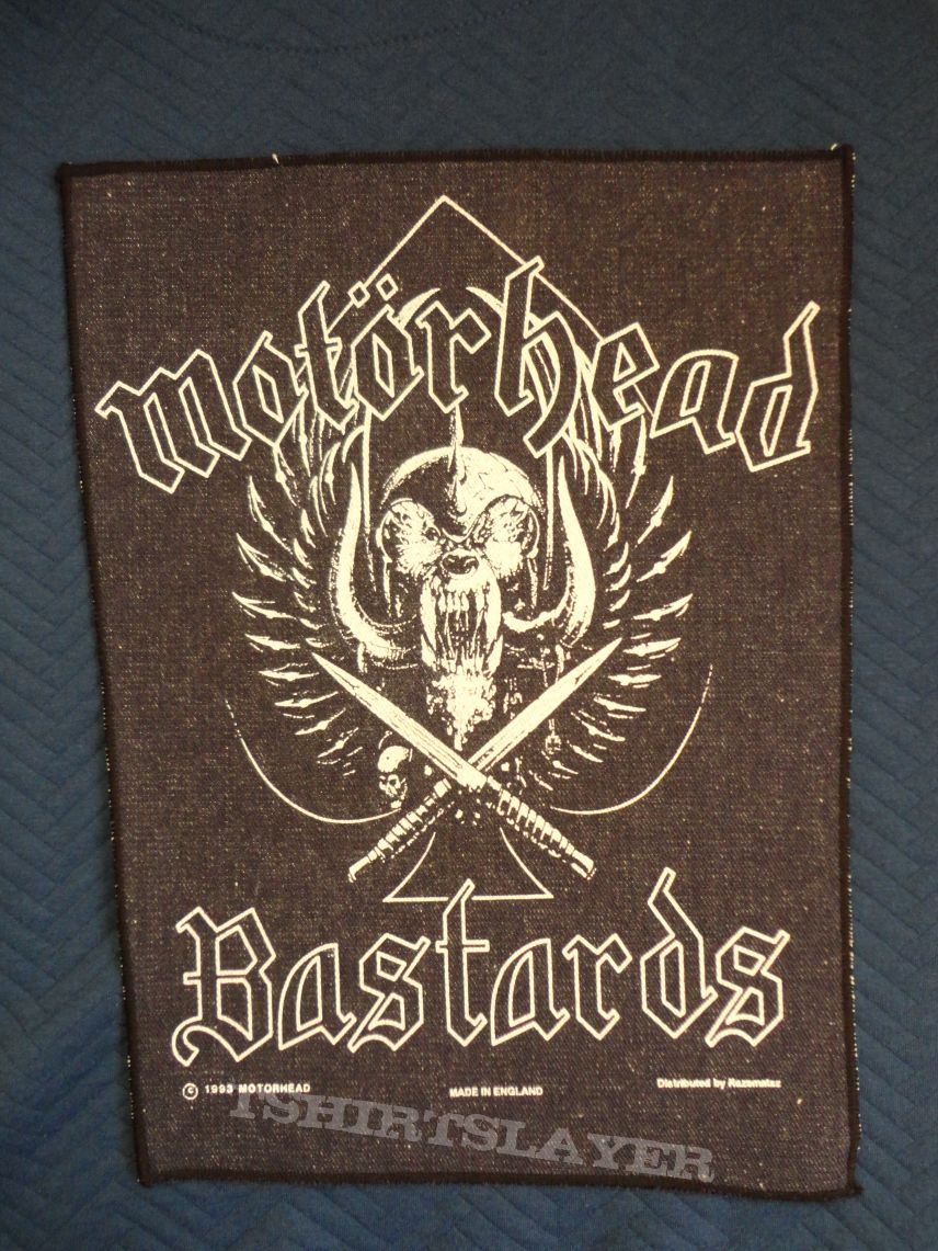 Bastards Official Backpatch available.