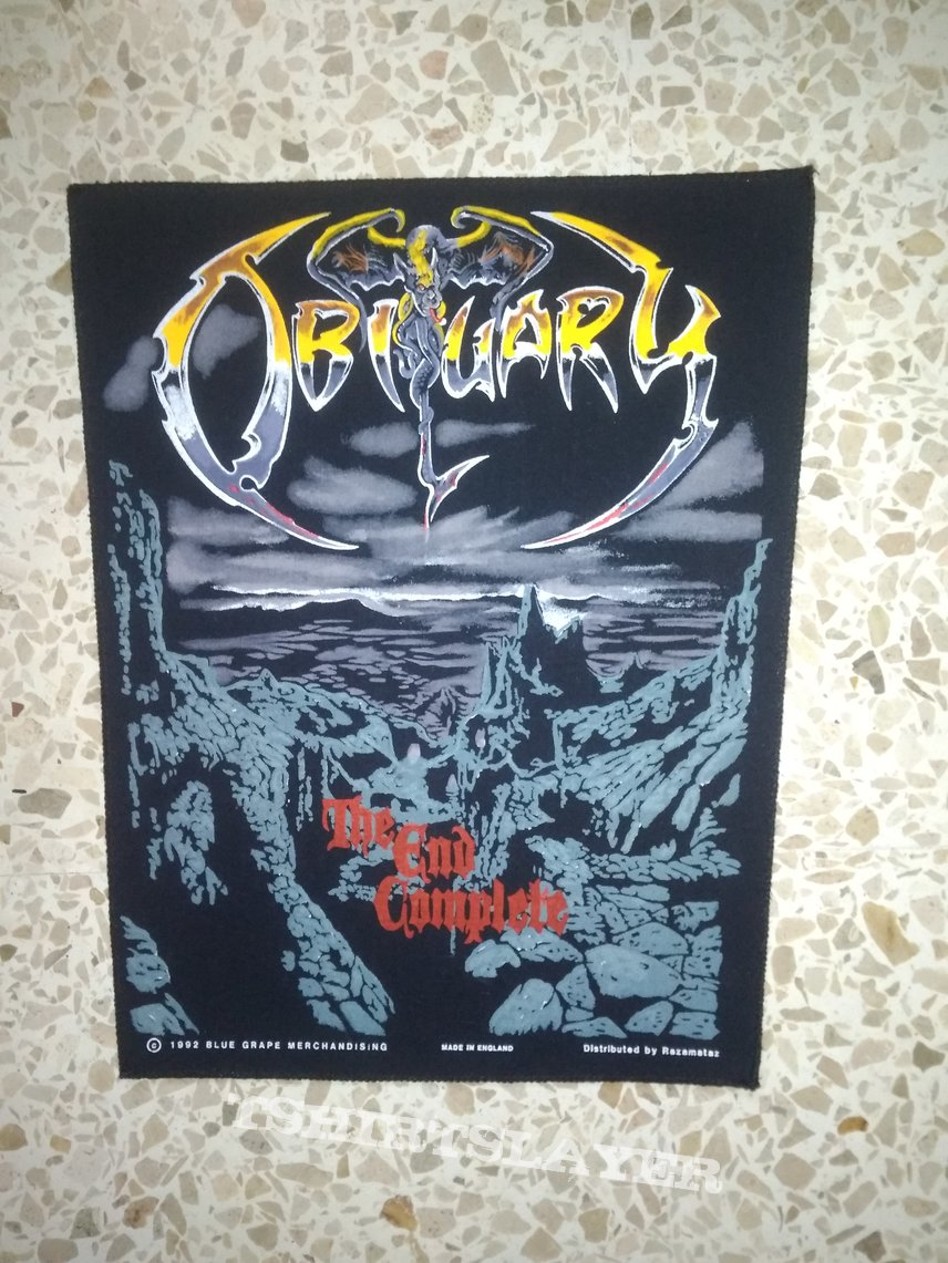 Obituary the end complete available bp.