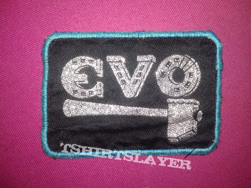 Old woven patch.