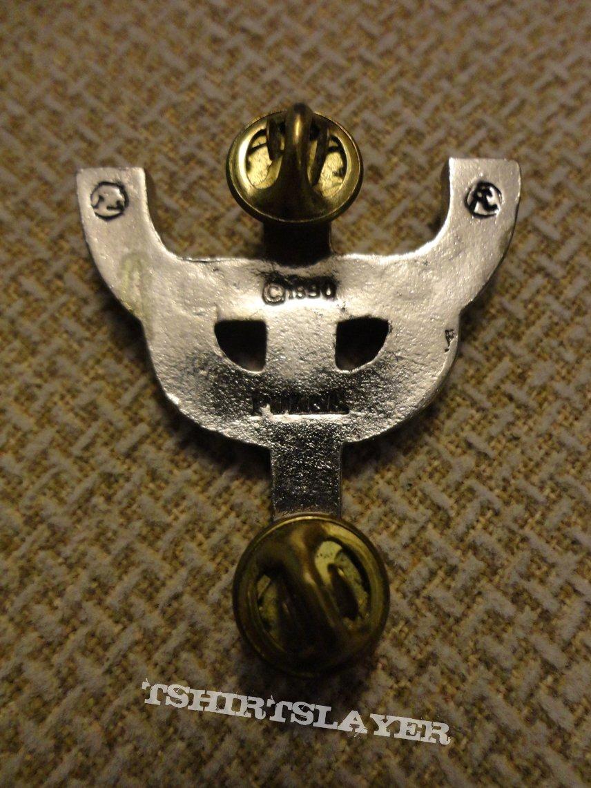 Metal Godz Cross badge