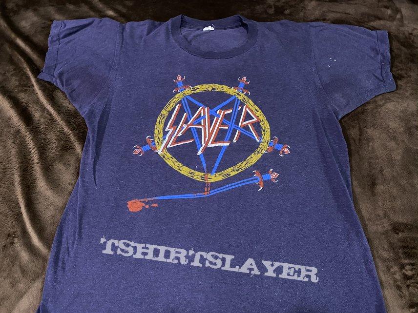 Slayer HELL AWAITS Tour '85 tour shirt
