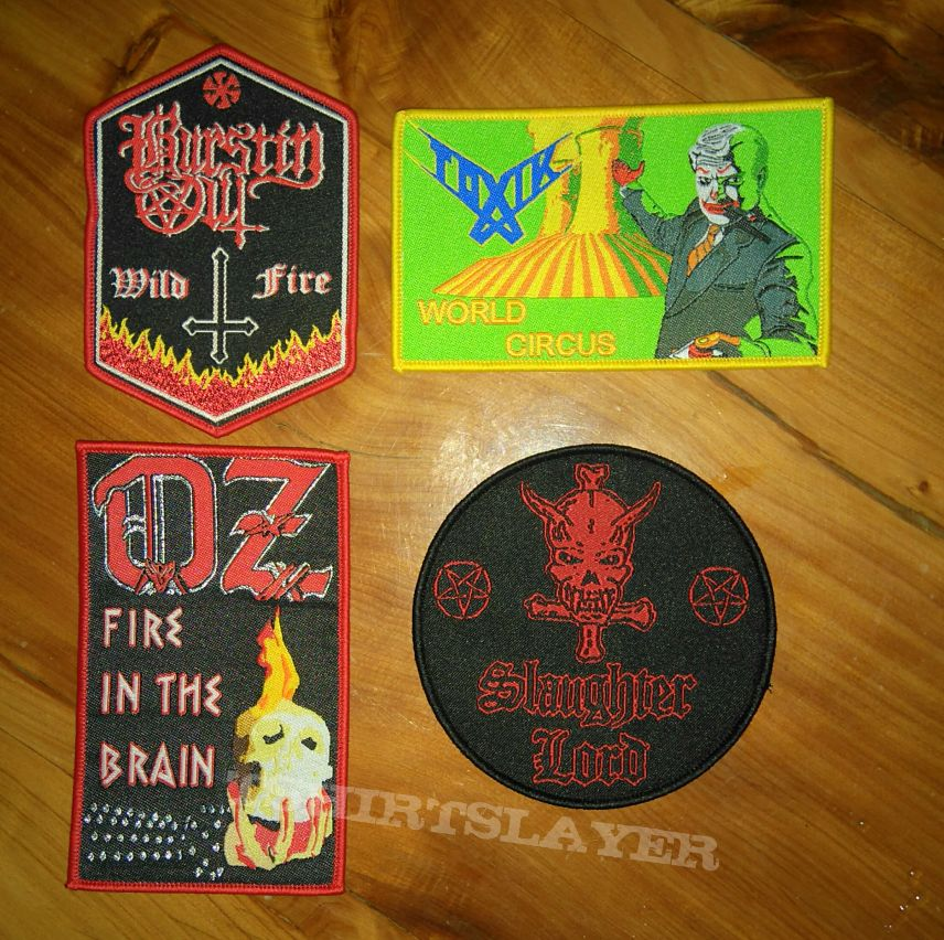 Patches..availables
