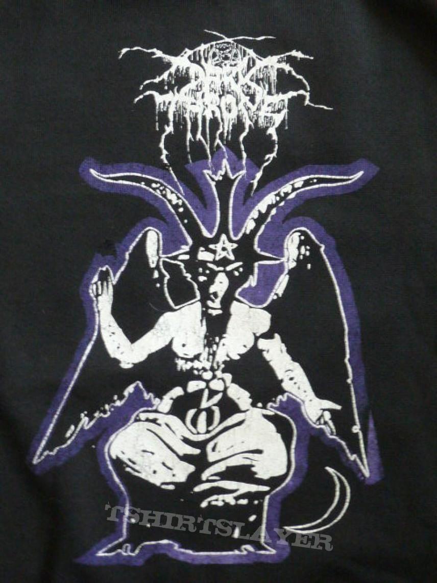 Dark Throne Logo Soulside Journey Hoodie XL original | TShirtSlayer
