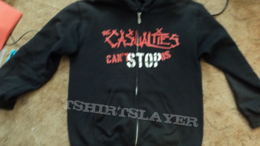 The Casualties Cant Stop Us Jacket