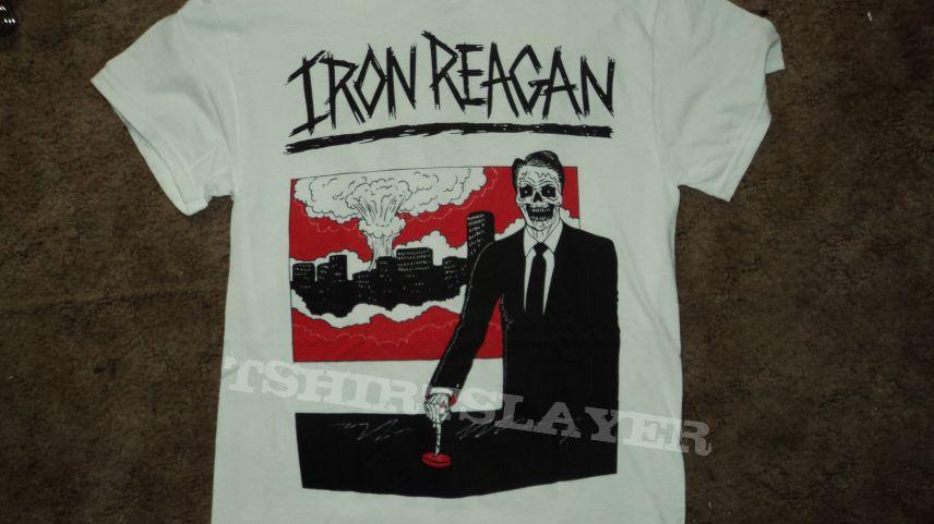 Iron Reagan Skeleton Reagan Shirt