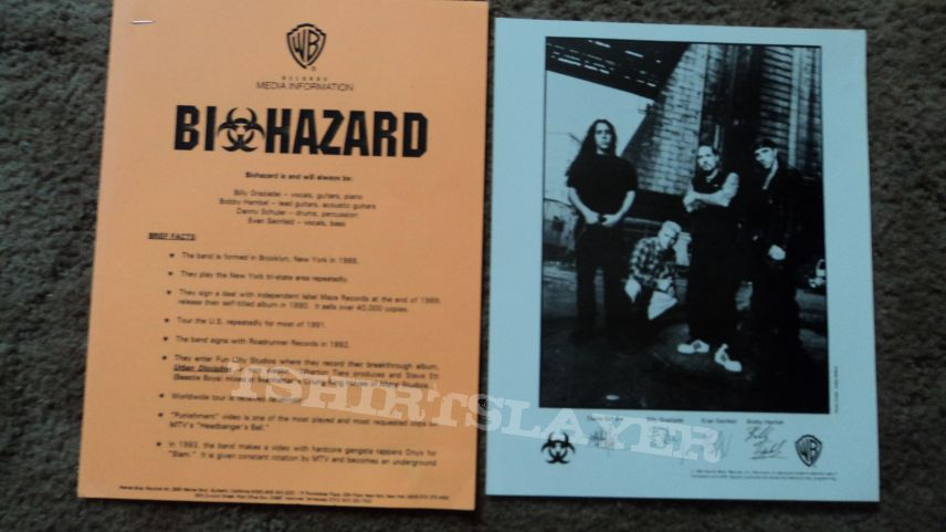 Biohazard Press Kit Photo