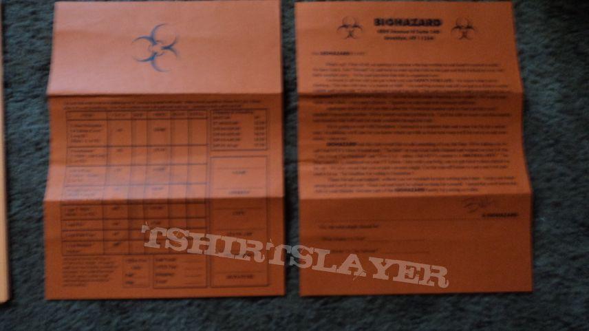 Biohazard Hazardous Times Issue 3