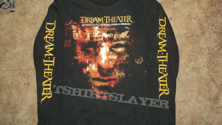 Dream Theater Metroplopis Pt 2 Scenes From A Memory Longsleeve Shirt Tshirtslayer Tshirt And Battlejacket Gallery