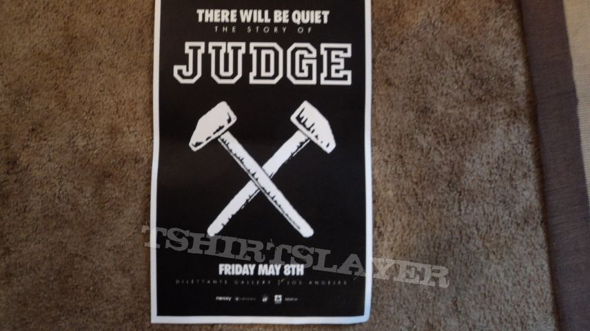 Judge There Will Be Quiet Movie Poster