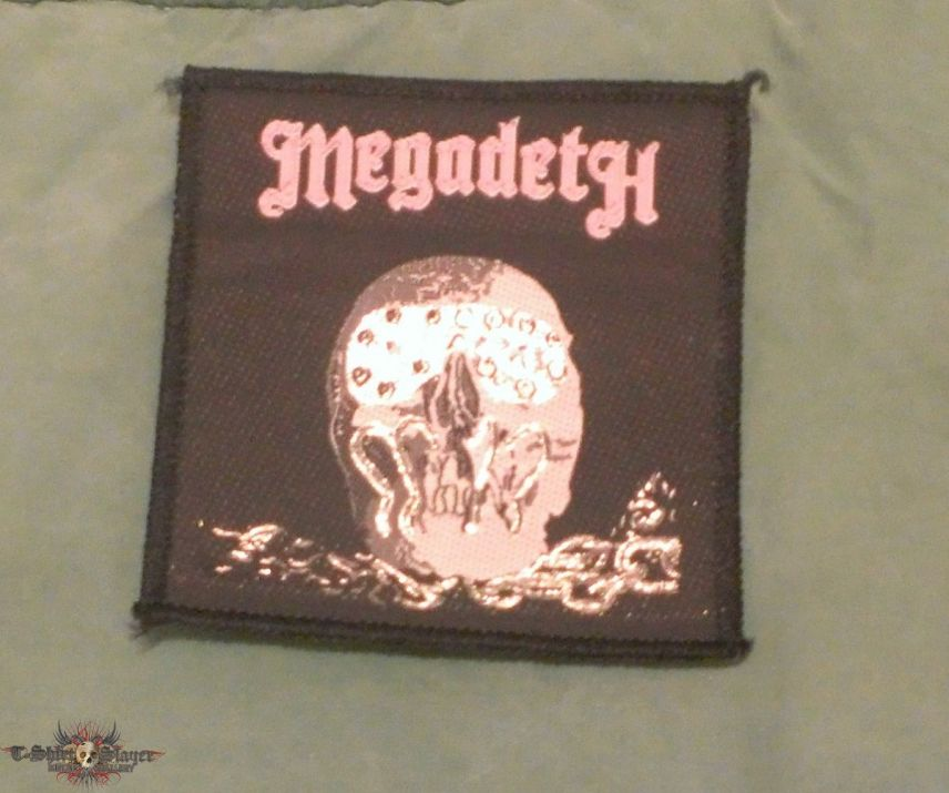 Megadeth: Killing is My Business and Business is Good patch