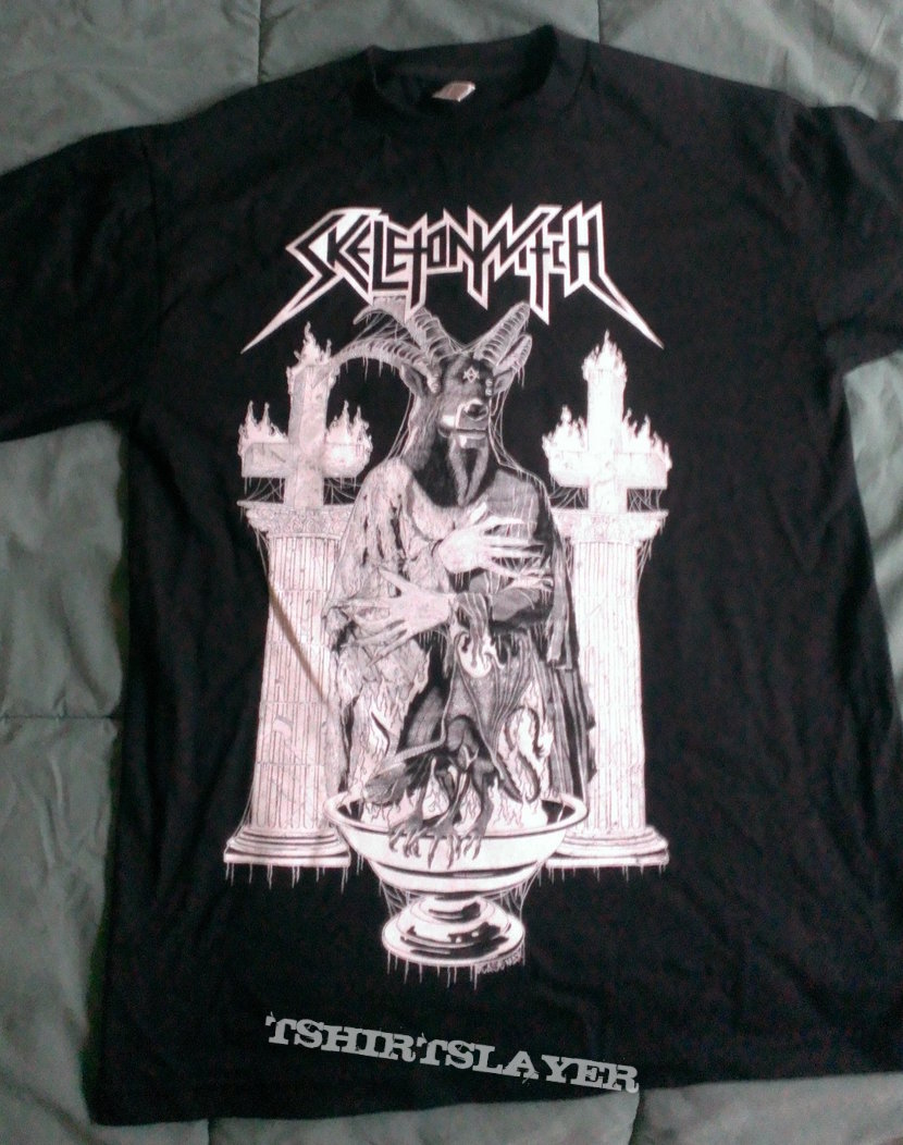 Skeletonwitch Baptized In Flames shirt