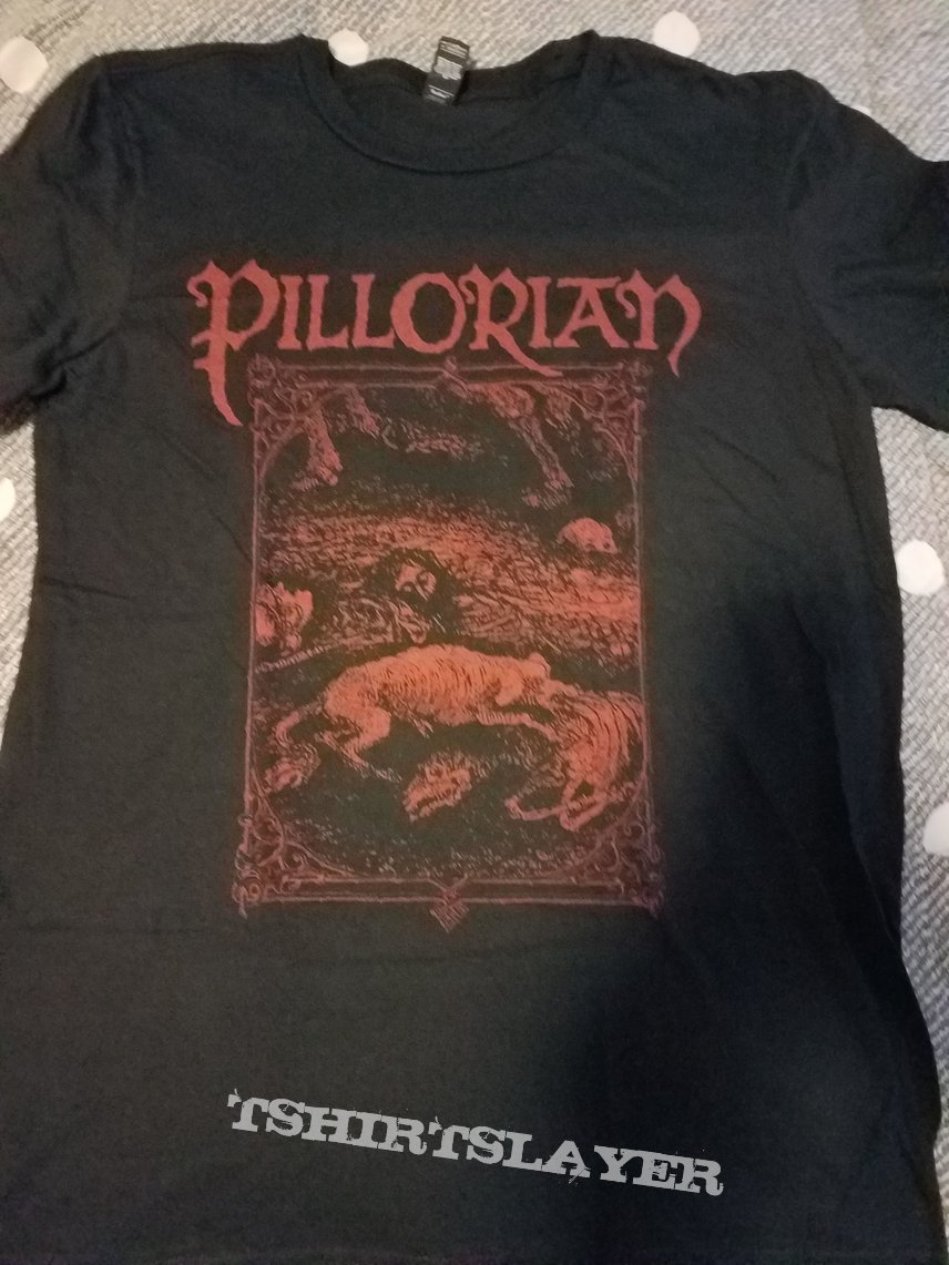 Pillorian: 2018 tour shirt