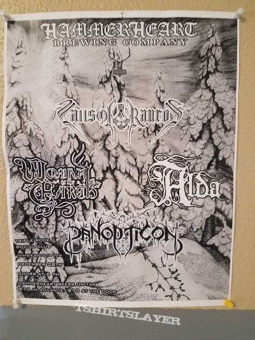 Panopticon: Gig Poster 2017