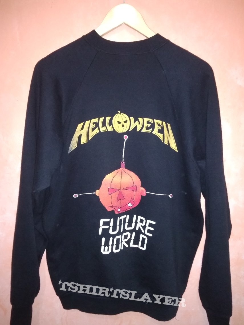 Open For OFFER! Vintage HELLOWEEN Future World 1987 Sweater