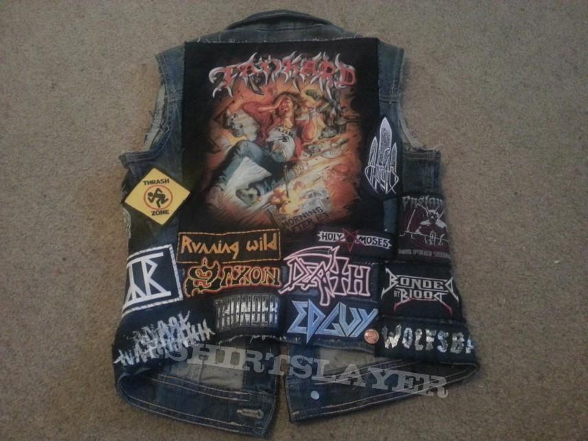 patch jacket - battle jacket