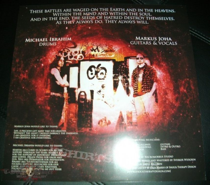 Other Collectable - Desultor - Masters of Hate Die Hard LP