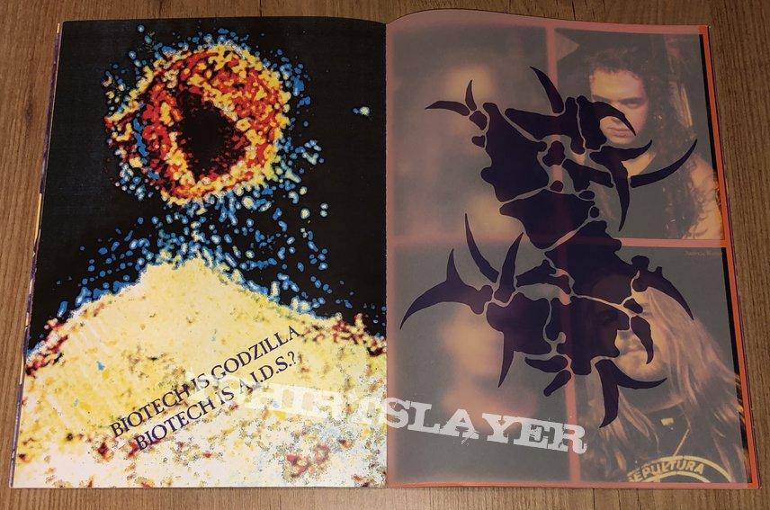 Sepultura Chaos worldwide 1993/1994 AD Program