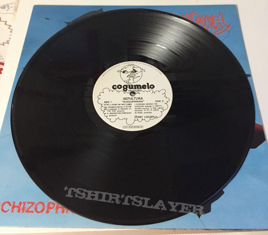 Sepultura Shizophrenia lp Cogumulo Records