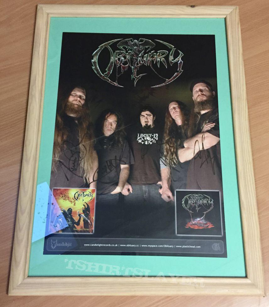 Obituary Signed promo poster