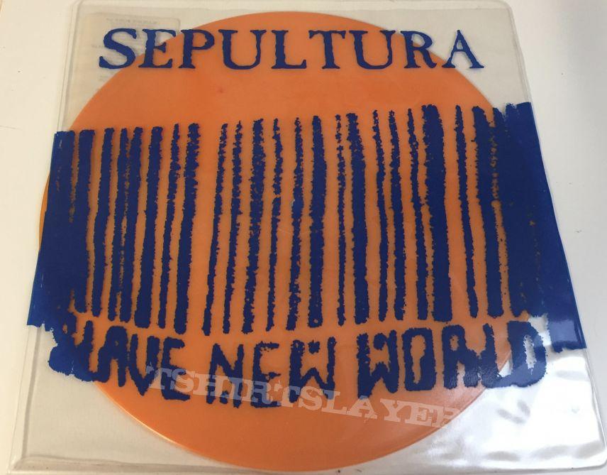 Sepultura Slave new World (10) lp