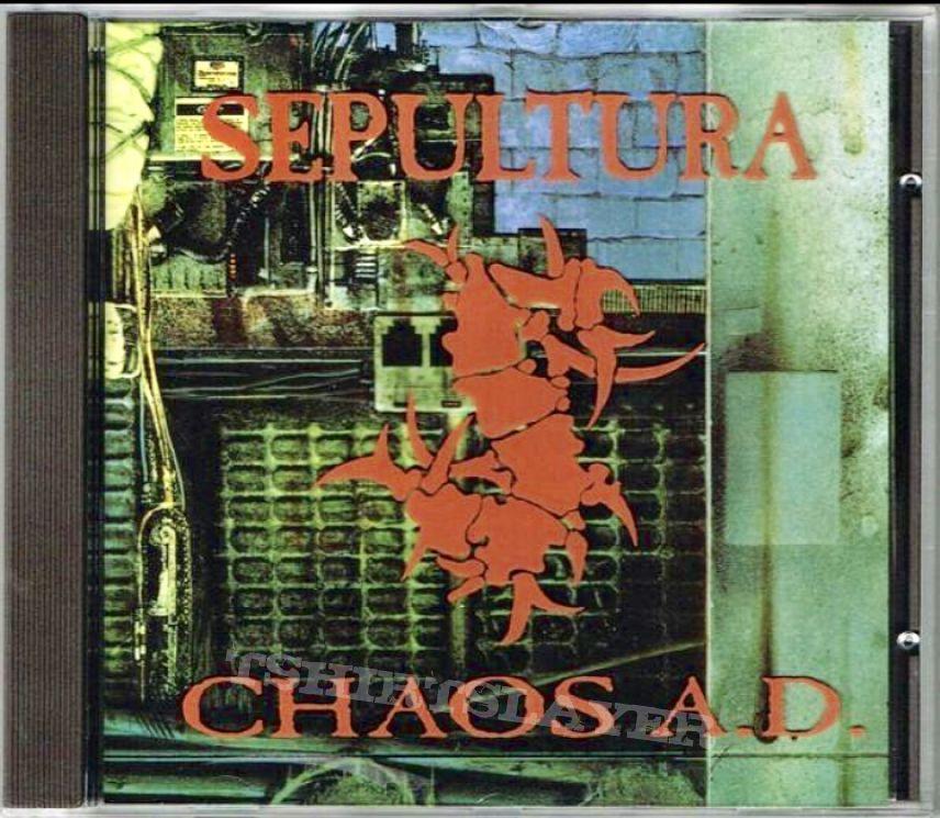 Sepultur Chaos AD Collectors  boxset