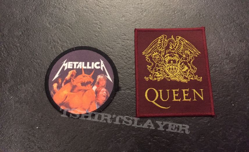 Metallica/queen patch